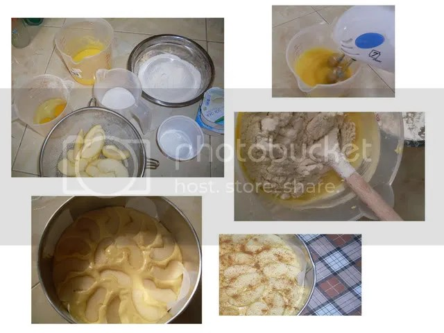 Applecake_process.jpg the process of an apple cake picture by venuz123