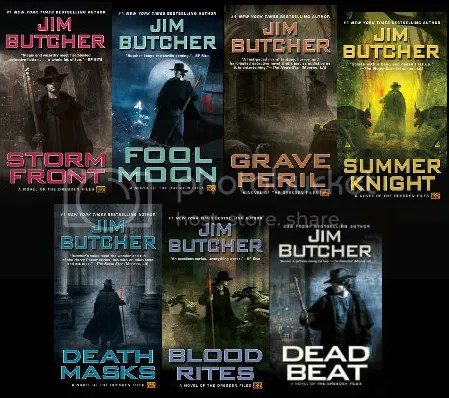 Books 1-7 of The Dresden Files