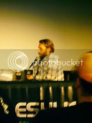 Scott sitting facing Kevin