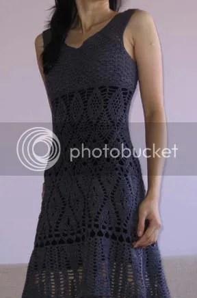 Lily Chins gorgeous crochet lace dress