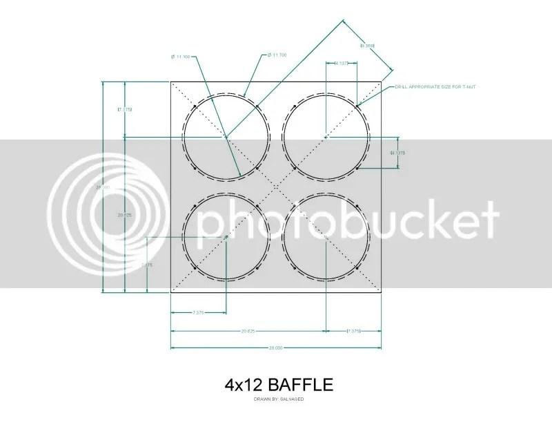 PDF Download 4×12 Speaker Cabinet Plans Plans Woodworking