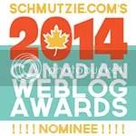 2014 Canadian Weblog Awards nominee