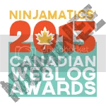 2013 Canadian Weblog Awards nominee