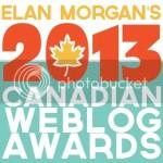 2013 Canadian Weblog Awards
