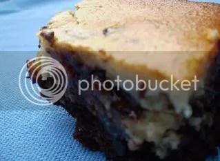 A cheesecake brownie.