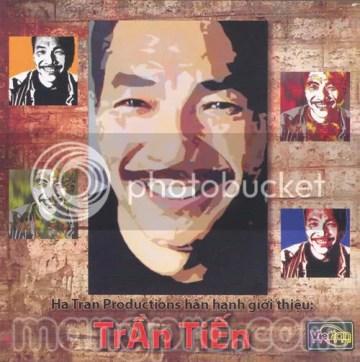 Bìa album Trần Tiến (2008)