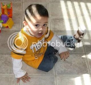 Gavin 14 months
