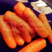 Baby Carrots with Sweet Ginger Butter