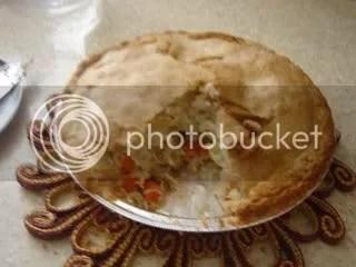 Chicken Pot Pie (finished!)
