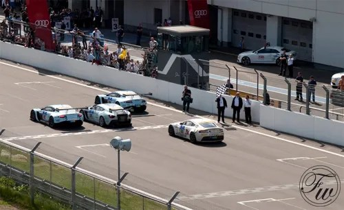 Aston Martin finishes 24 hours of Nurburgring