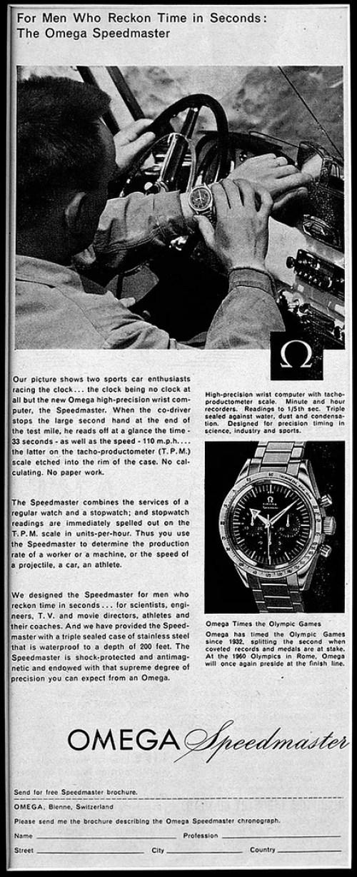 Speedmaster advertisement