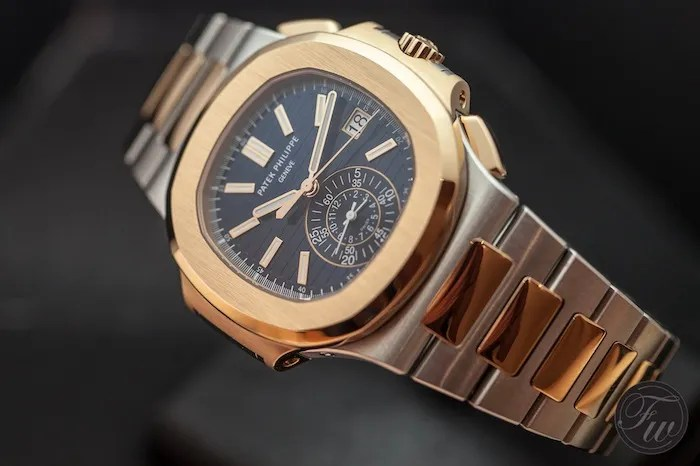 Patek Philippe Introduces The Rose Gold Nautilus Chronograph 5980/1R   Live Pictures and Official Price