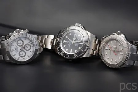 Rolex Daytona, Yacht-Master and DeepSea Sea-Dweller