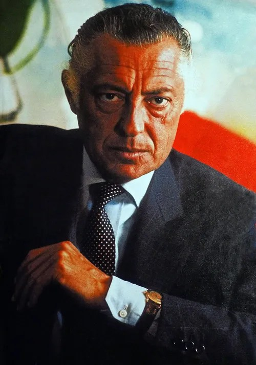 Gianni Agnelli wearing Patek Philippe
