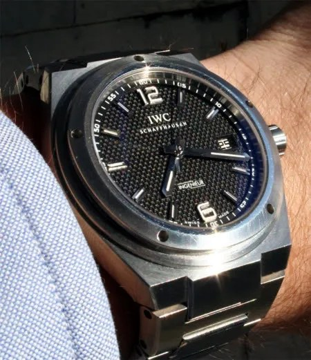 IWC Ingenieur 3227-01 Photo taken by Cinq