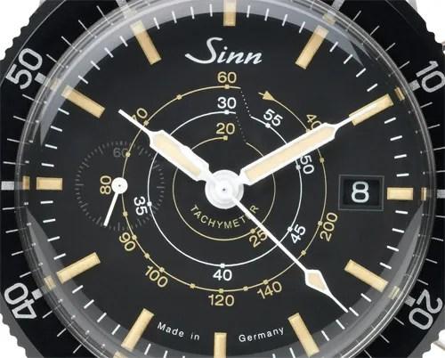 Sinn Chronograph Tachymeter Manufactum