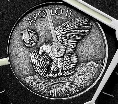 Apollo 11 patch designed by Michael Collins, astronaut on the Apollo 11 mission