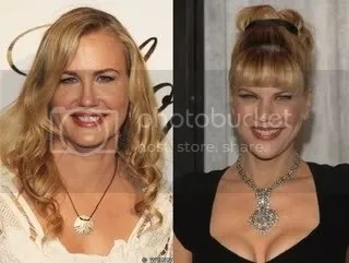 Daryl Hannah and Kristen Johnson