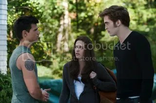 Jacob, Bella, Edward
