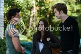 Jacob, Bella, Edward