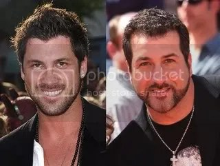 Joey Fatone and Maksim Chmerkovskiy