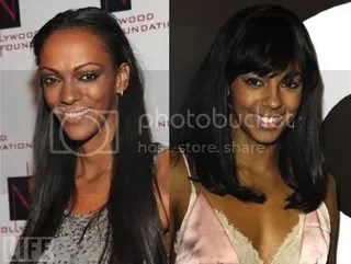Judi Shekoni and Marsha Thomason