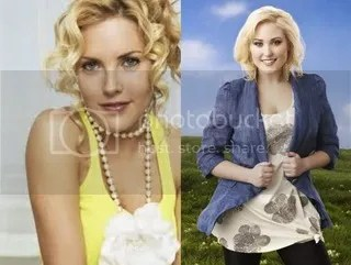 Mercedes McNab and Hayley Hasselhoff