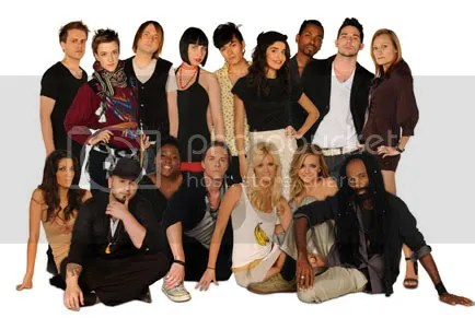 Project Runway S6 cast