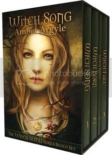 Witch Song series book covers