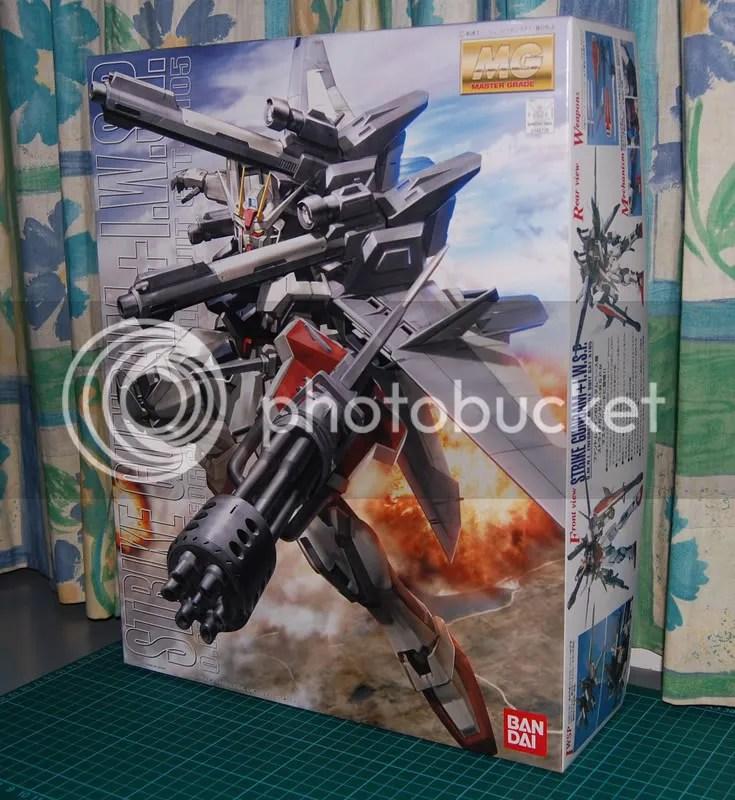MG Strike Gundam + I W S P | Wcloudx (kumo)'s Blog - Ramblings about