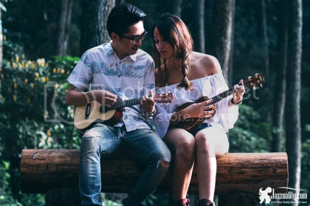 celline and the ukulele man, jazzuality