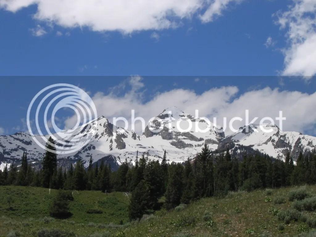 Grand Teton Peaks 4