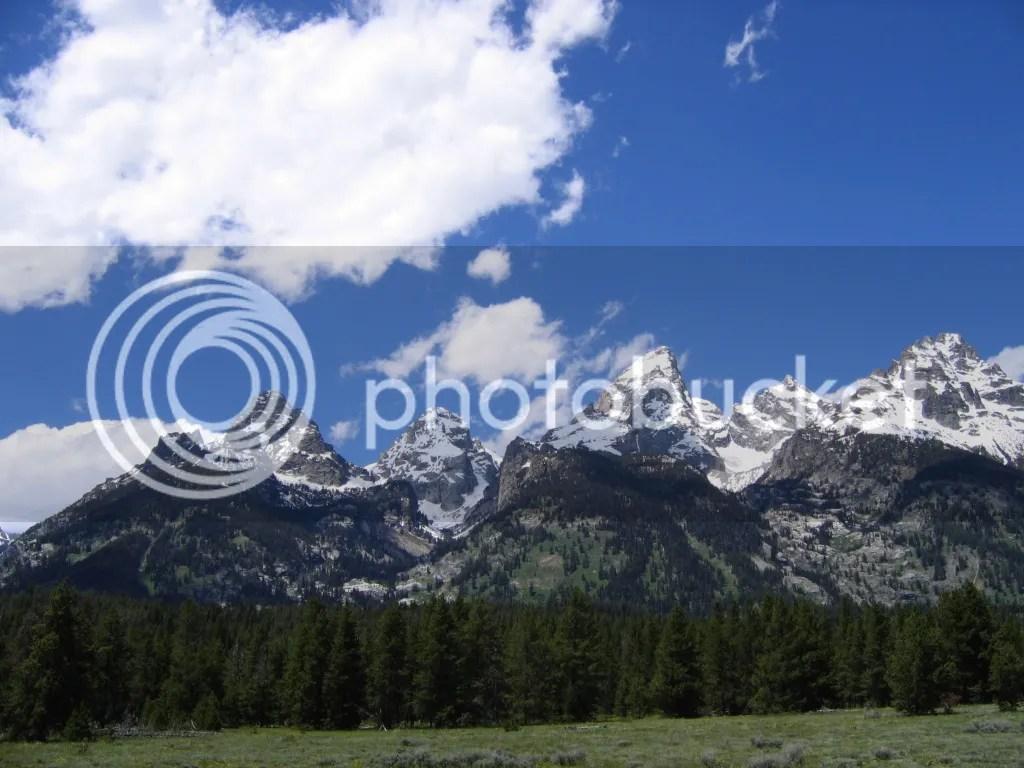 Grand Teton Peaks 7