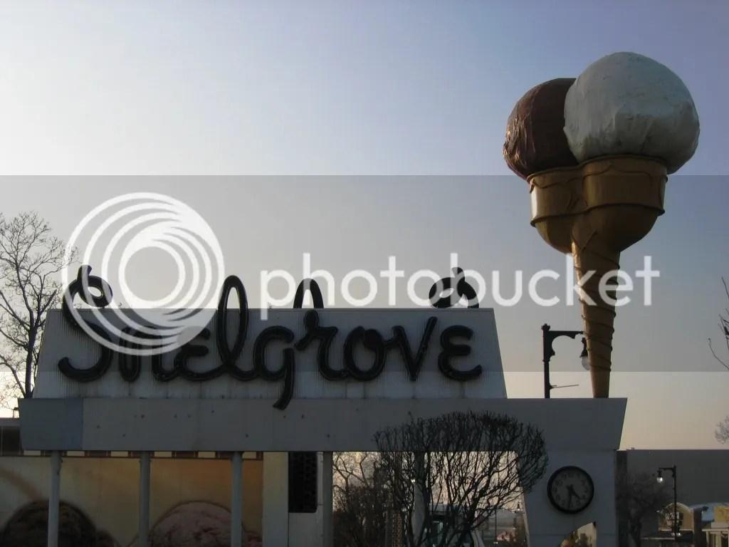 Snelgrove Ice Cream Sign