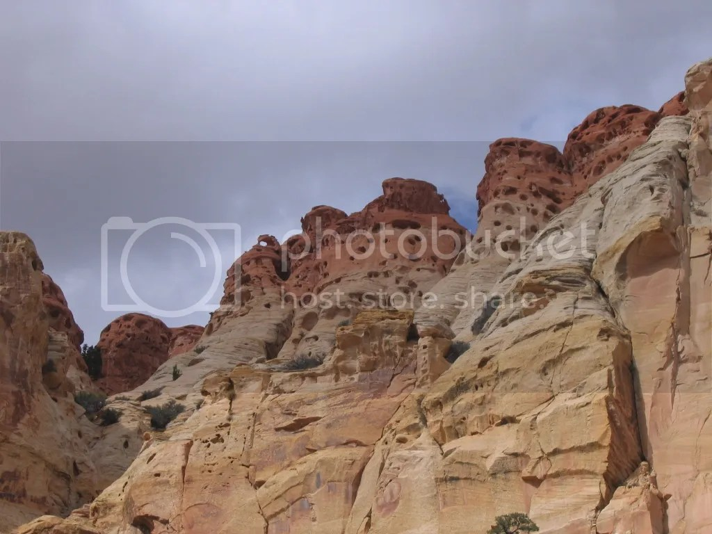 Sandstone Pockets and Faces