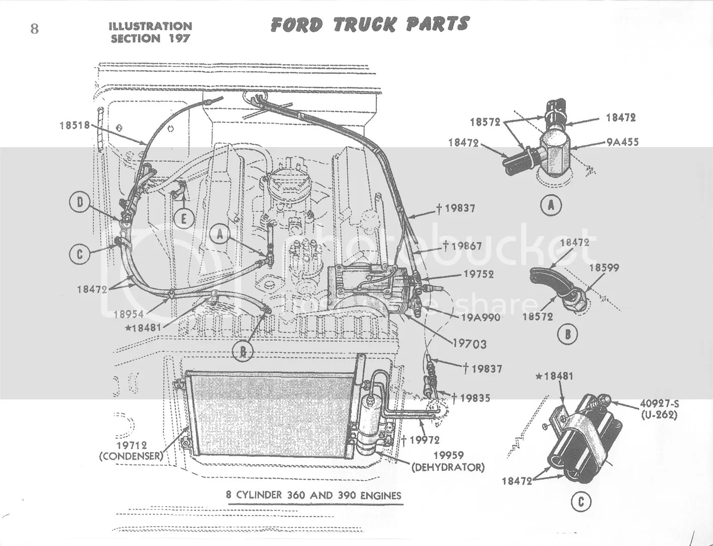 Ford 351w Rear Main Seal