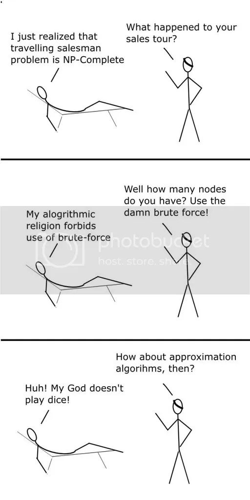 Dogma of Algorithms