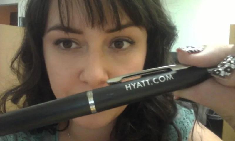 I'm a pen stealer!