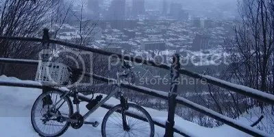 frozen bike