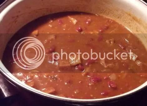 jerk spice vegan chili