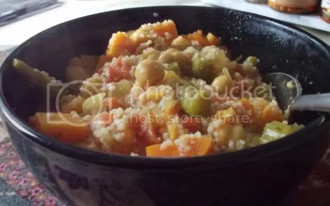 moroccan stew and couscous