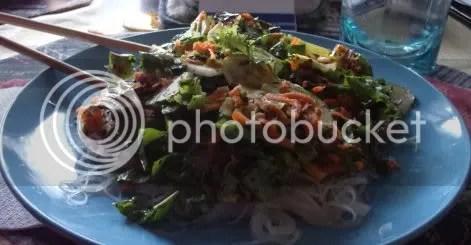 rice noodle salad 02