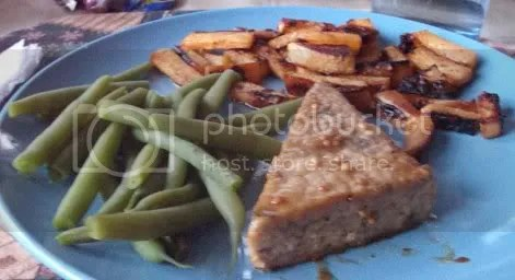 maple glazed meal