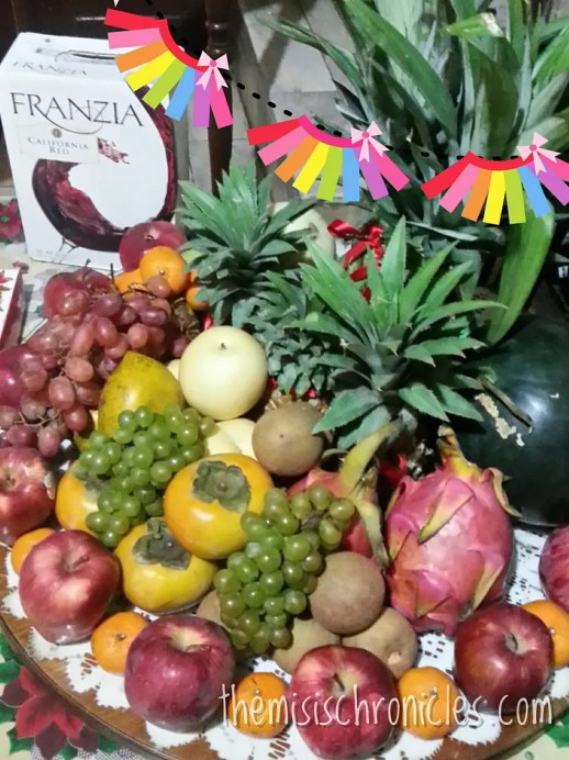 lucky fruits for the New Year