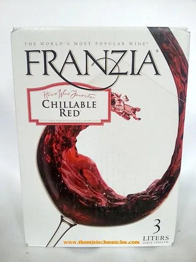 Franzia Chillable Red