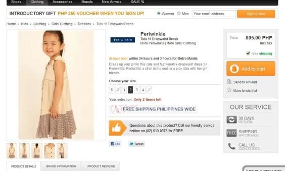 periwinkle dropwaist dress