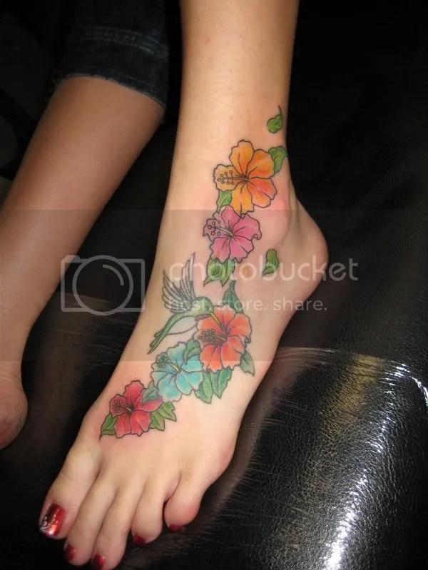 Flower tattoo designs capture what you cannot say with words and are infused