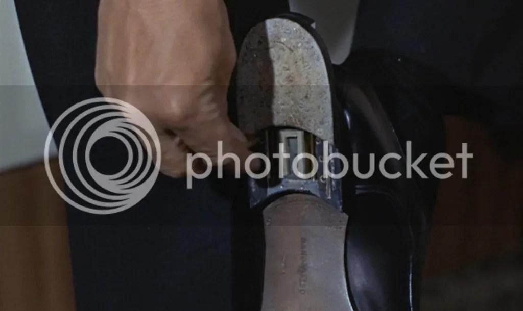 Image result for Goldfinger shoe transmitter
