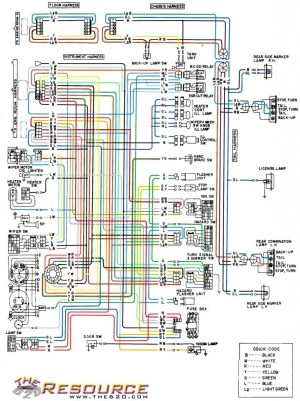 color coded wiring diagram  620  Ratsun Forums