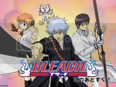 gintama - bleach parody